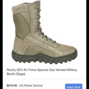 Rocky Air Force boots